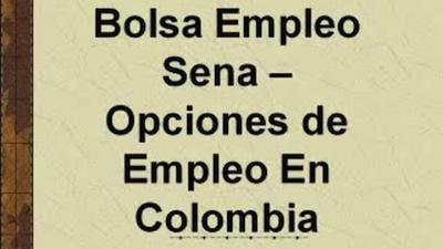 sena oferta laboral 2014